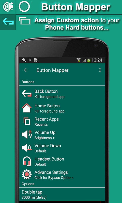 Button Mapper - Remap all Hard keys 1 7 APK Download - Android