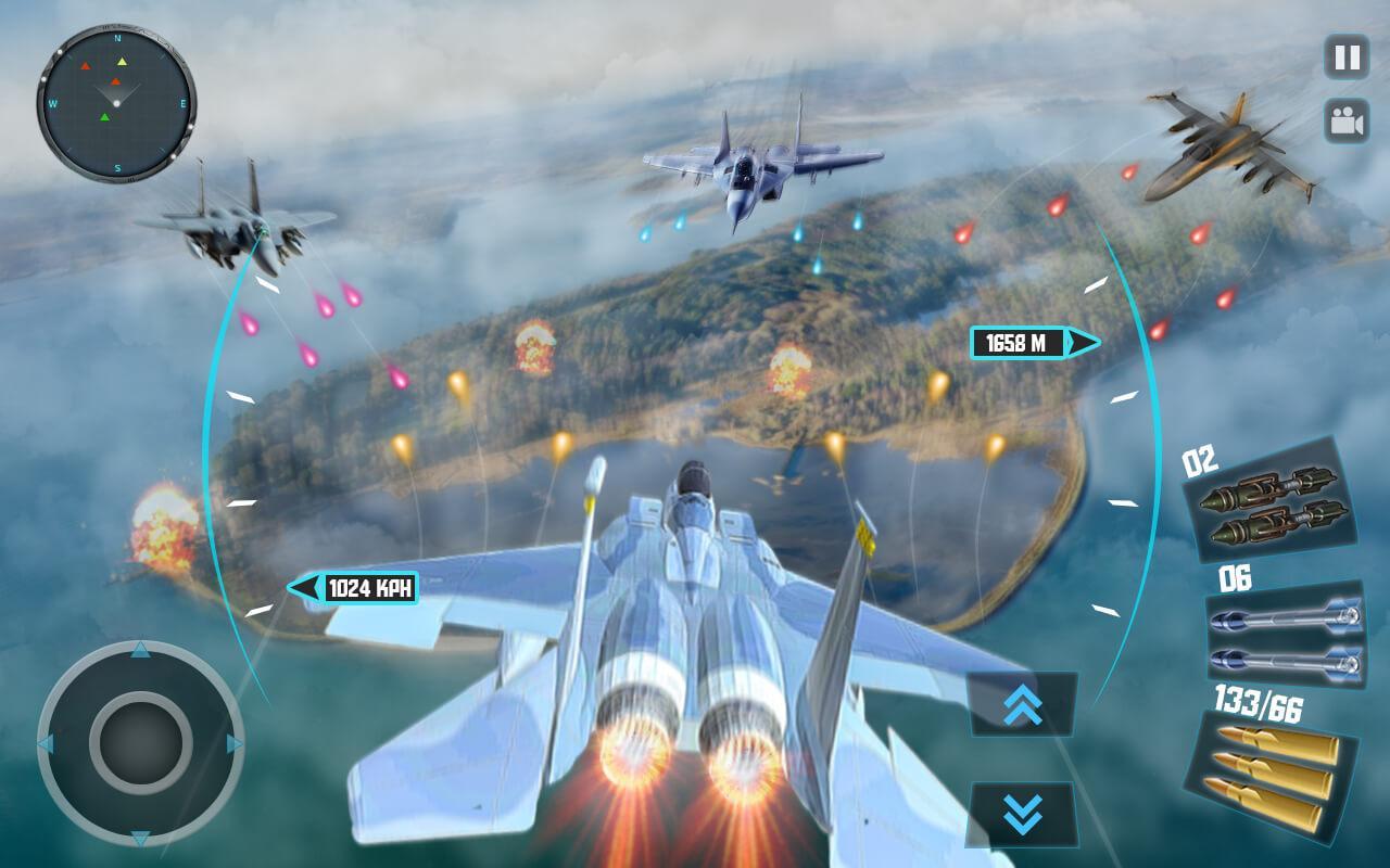 Sky Fighter Plane – Flight Pilot Battle Simulator 1 5 APK