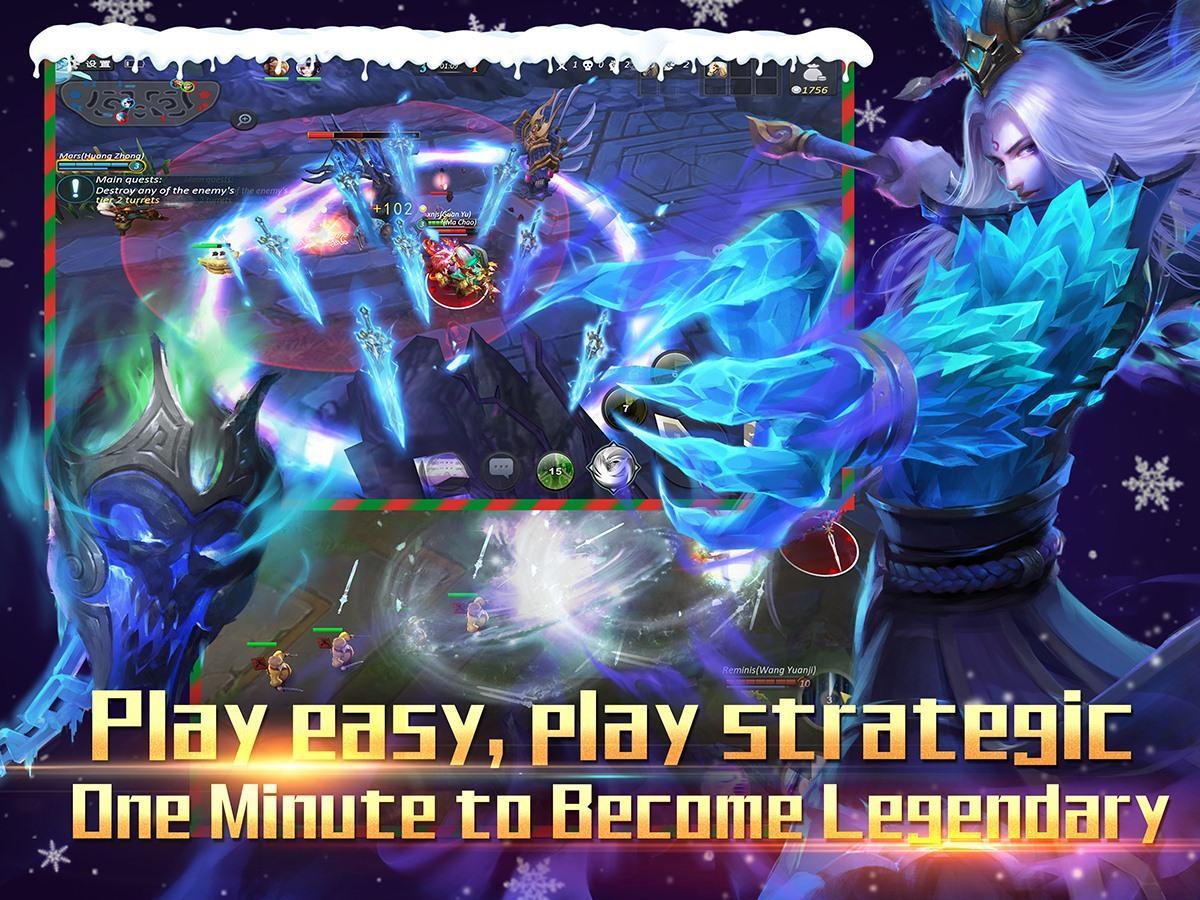 ... Legendary-5v5 MOBA game 1.0.60 screenshot 7 ...