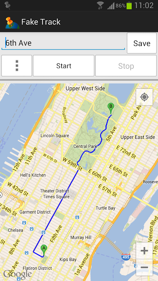 Fake Track, Simulate GPS route 1 9 1 APK Download - Android Tools Apps