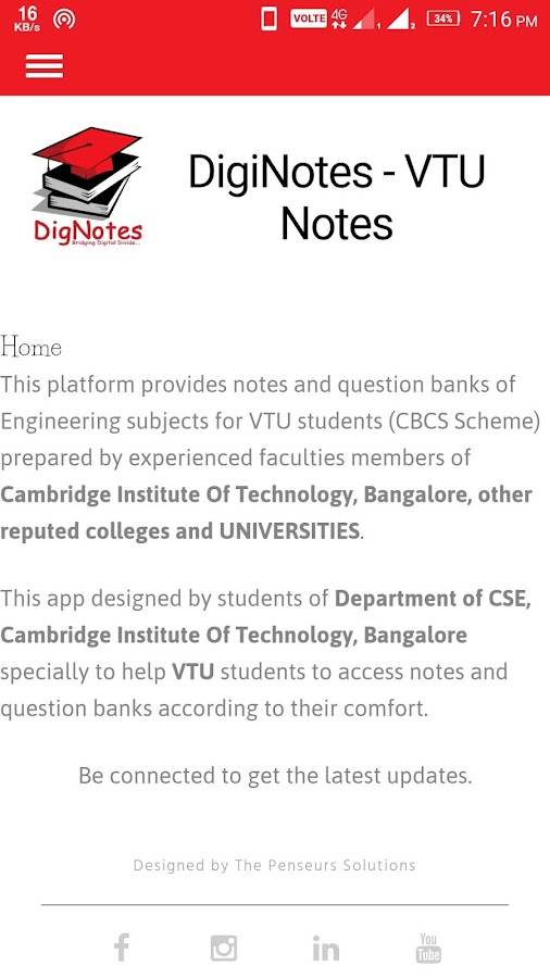 DigiNotes (VTU Notes & QB CBCS Scheme) 6 2 APK Download