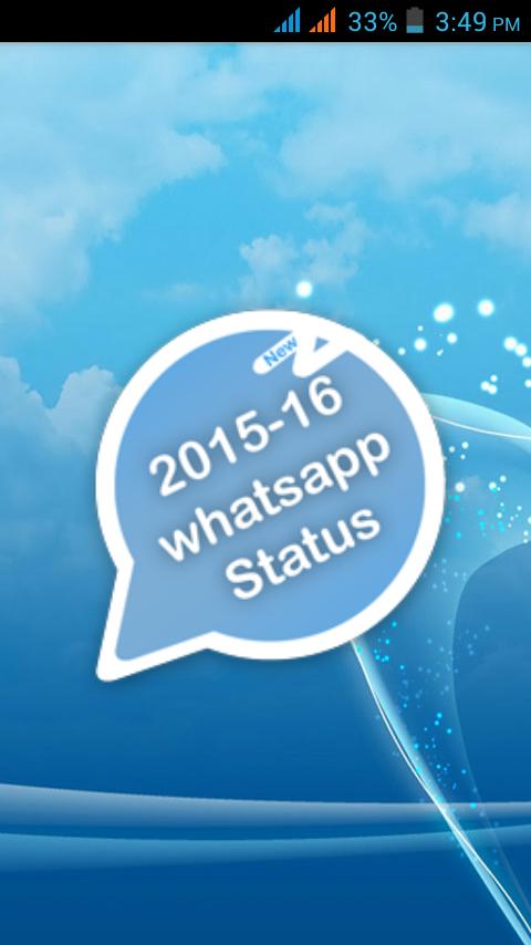 Latest Whatsapp Status 2015 16 111111 Apk Download
