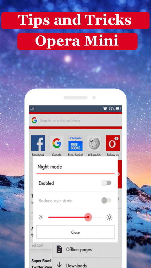 Guide for Opera Mini Beta 2017 1 0 4 APK Download - Android
