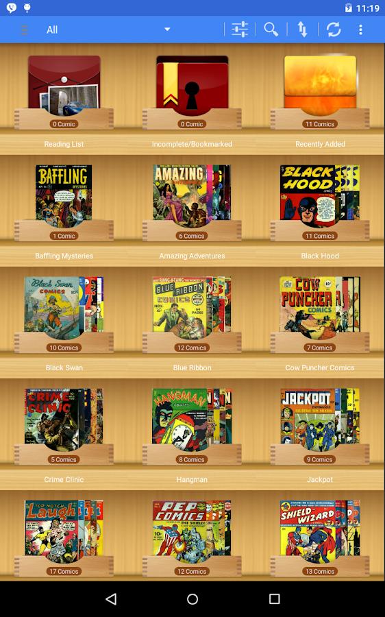 ComiCat (Comic Reader/Viewer) 2 42 APK Download - Android