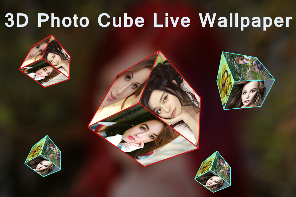 3d Photo Cube Live Wallpaper 13 Apk Download Android Tools Apps