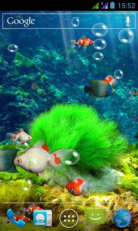 Aquarium 3d Live Wallpaper 29 Apk Download Android