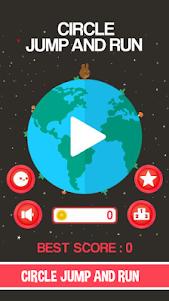 Circle Jump And Run 1.0 screenshot 1
