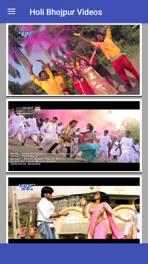 Bhojpuri Holi Video 1 0 Apk Download Android Entertainment Apps