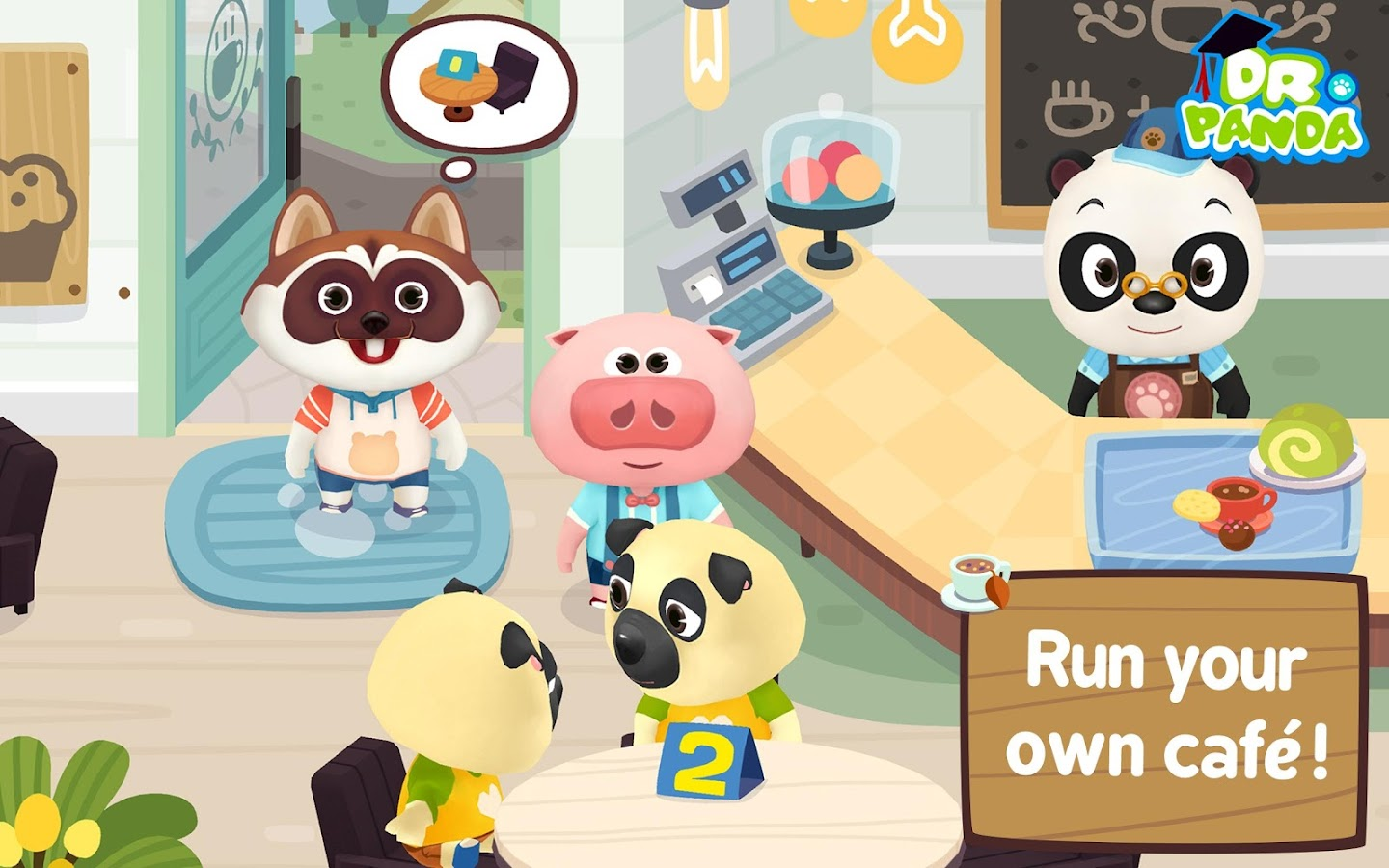 Dr Panda Café Freemium 1 01 APK Download Android
