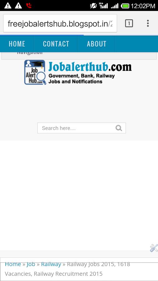 Govt Job Alert Sarkari Naukri 0 1 APK Download - Android