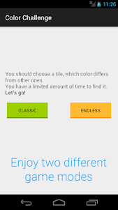 Guess Color Difference 1.0.1 screenshot 1