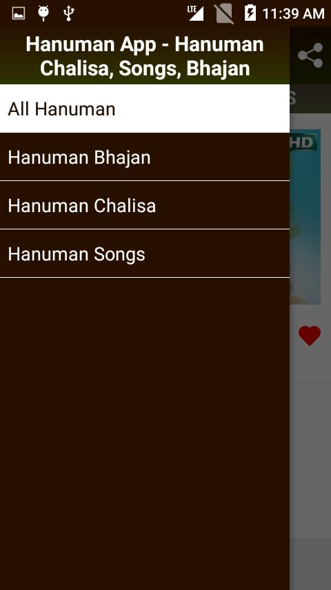 Hanuman App: Hanuman Chalisa, Songs, Bhajan 1 3 3 APK