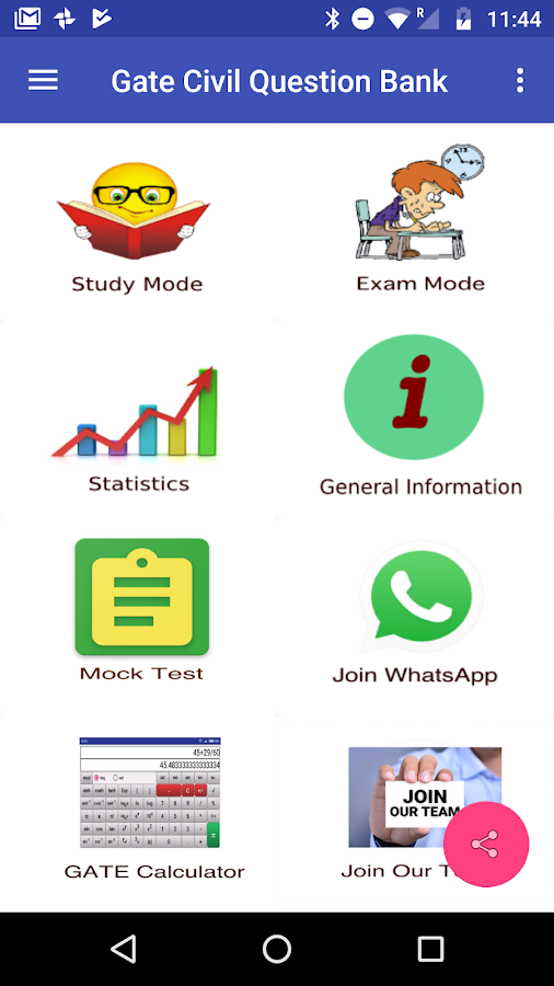 Gate Civil Question Bank 11 8 APK Download - Android Education Apps