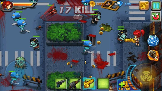 Zombie Killer - Hero vs Zombies 1.8 screenshot 1