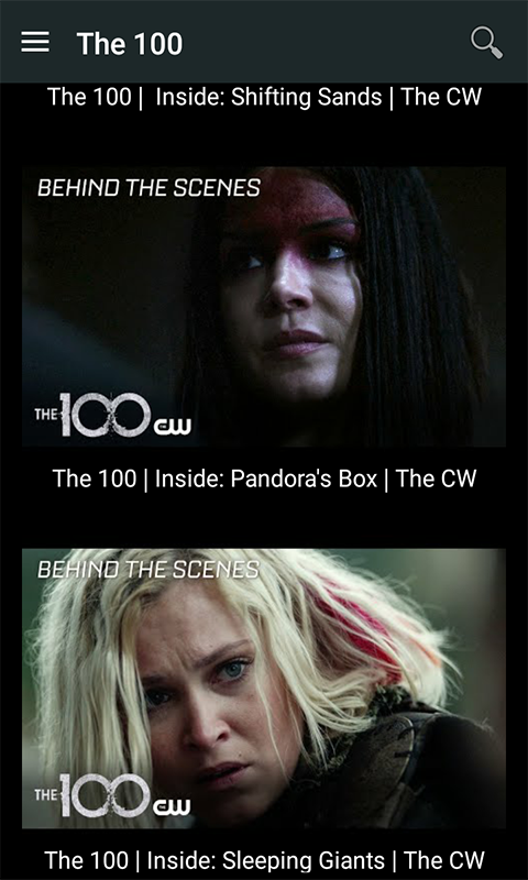 The CW TV Videos 1 0 APK Download - Android News & Magazines