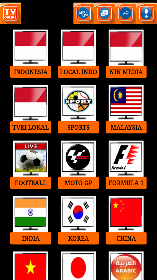 Tv online indonesia 2 8 APK Download - Android Entertainment Apps