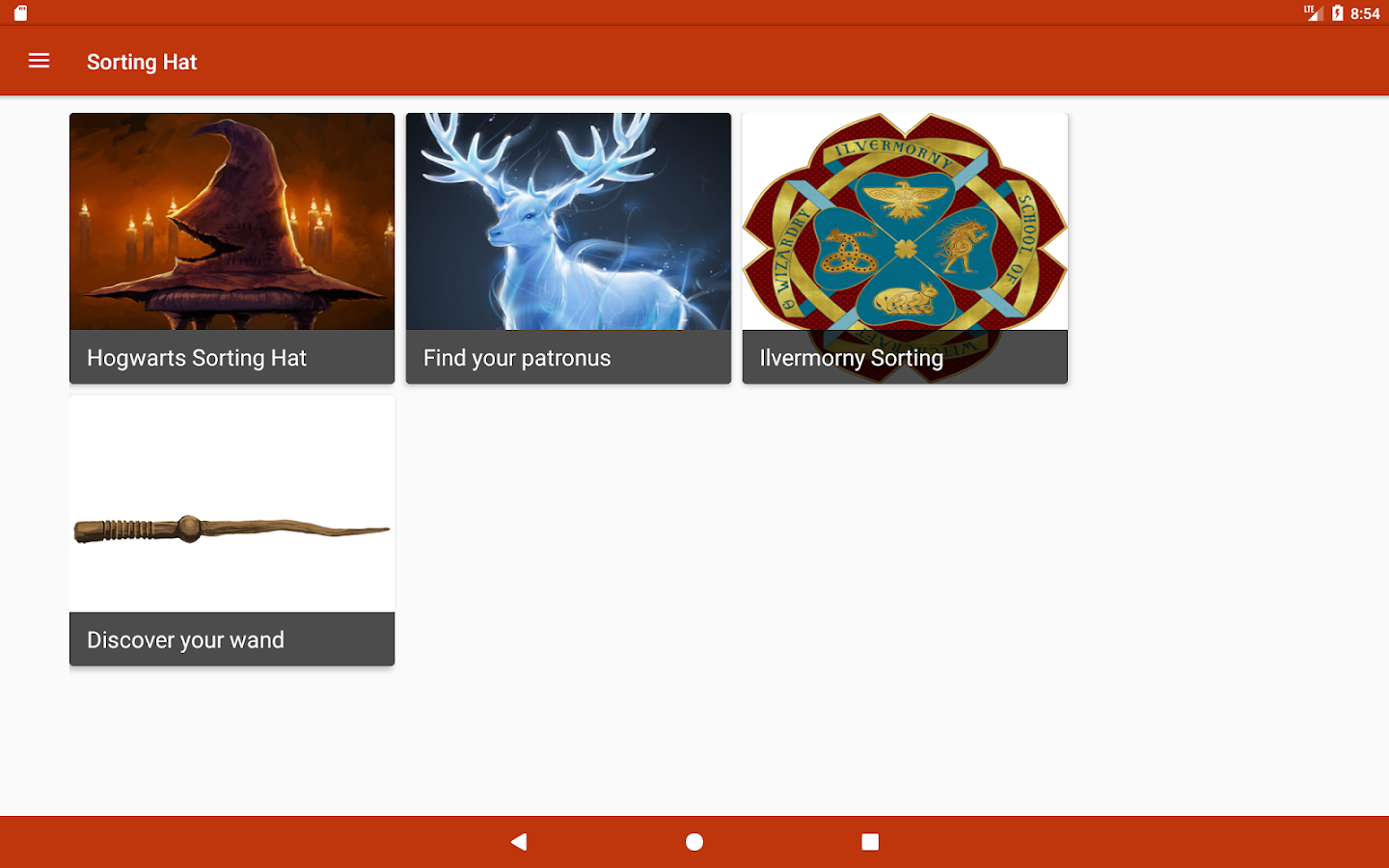 Sorting Hat, Patronus, Ilvermorny and wand quiz 1.2.1 APK Download ...