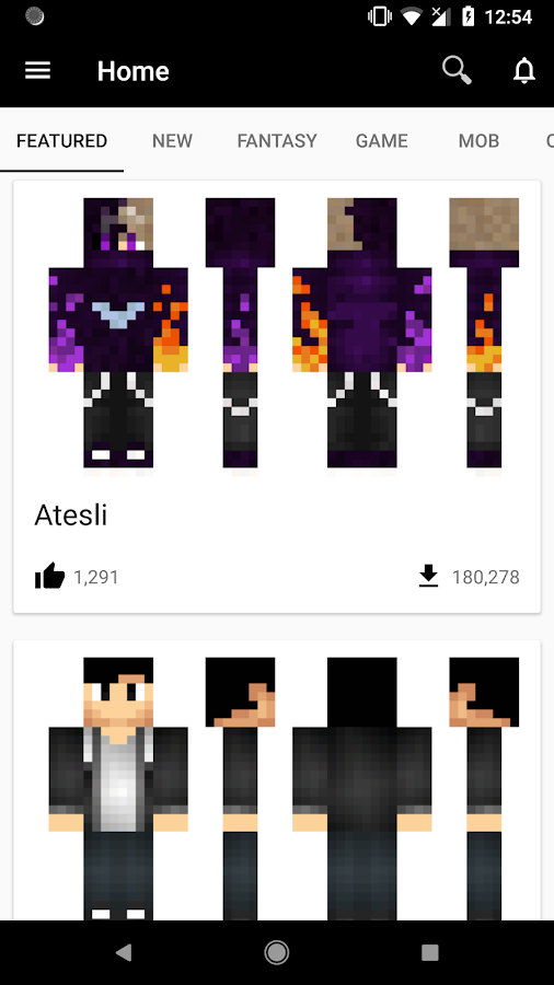 Skins For Minecraft PE APK Download Android Tools Apps - Skin para minecraft pe de marshmello