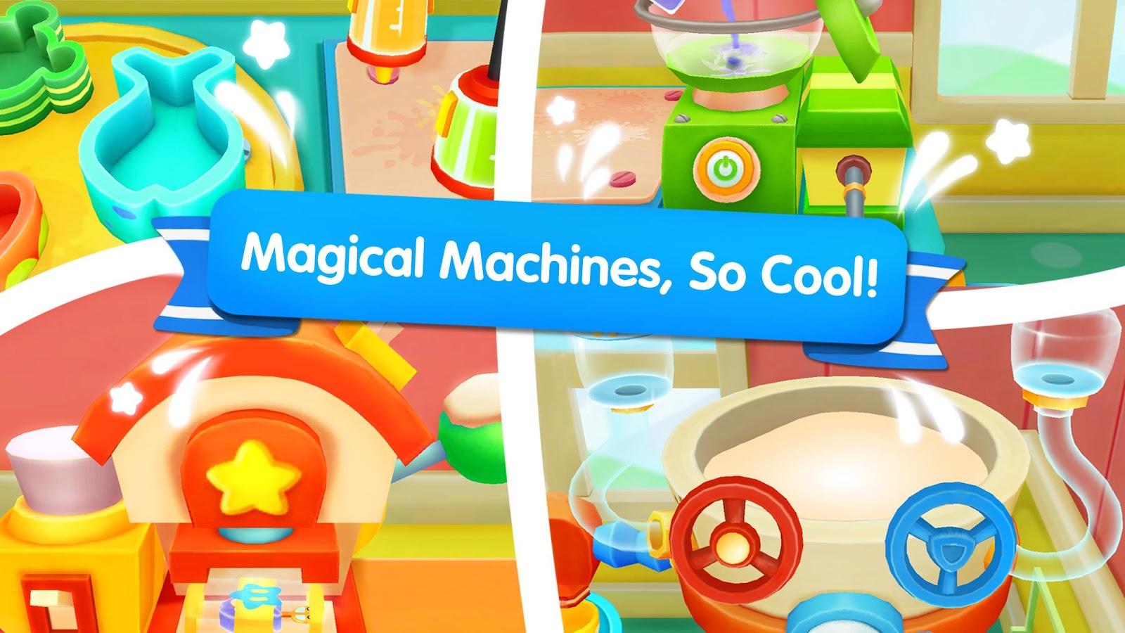 Little Pandas Ice Cream Factory 8290000 Apk Download Android Mainan Anak Frozen Maker Pembuat Screenshot 14