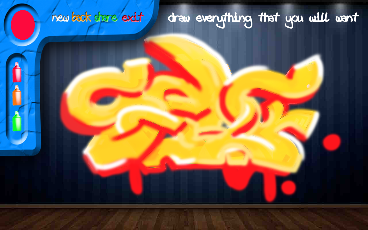 Graffiti draw pro 1 1 screenshot 1