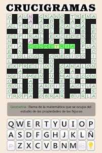 Crosswords - Spanish version (Crucigramas) 1.1.8 screenshot 21
