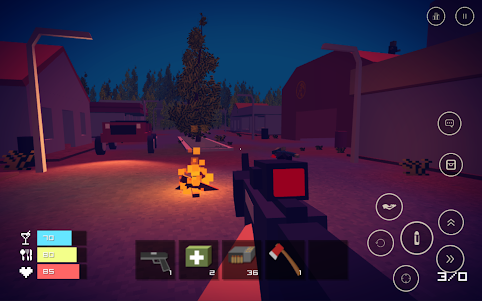 Pixel Day - Unturned Z 1.03 screenshot 2