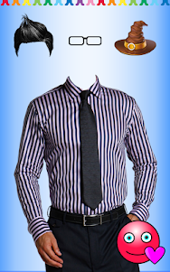 Men Shirt With Tie Photo Suit Maker 1.0.9 screenshot 18