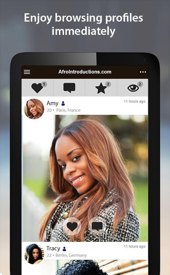 Afrointroductions African Dating App   Afrointroductions