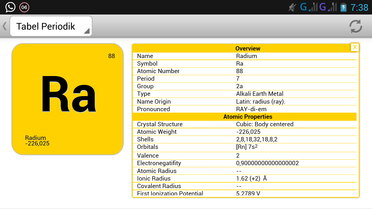 Tabel periodik unsur kimia v3 10 apk download android education apps tabel periodik unsur kimia v3 10 screenshot 6 urtaz Choice Image
