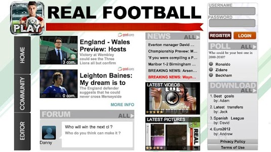 Real Football 2012 1.6.1d screenshot 6