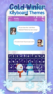 Cold Winter Keyboard Themes 1.0 screenshot 2