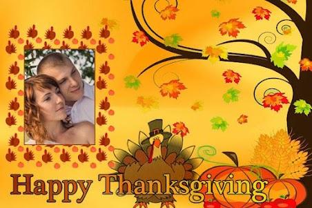 Thanksgiving Photo Frames 1.0 screenshot 4