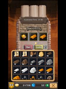 Blacksmith Story-Pixel Game 3.2.0 screenshot 13