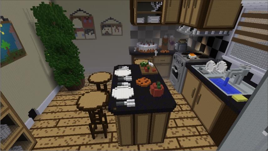 kitchen craft ideas minecraft 40 screenshot 6 - Minecraft Kitchen