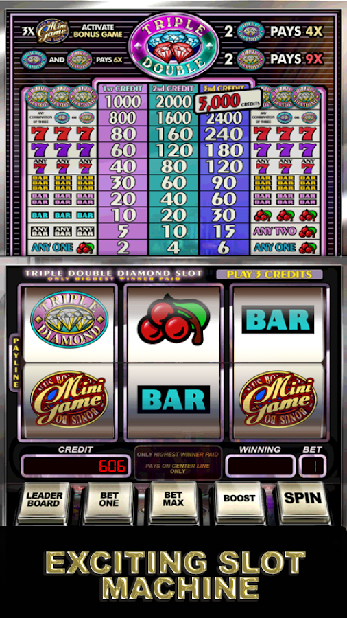 Triple double diamond slots free