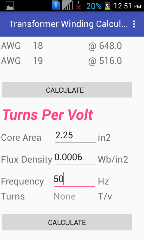 Transformer winding calculator 10 apk download android tools apps transformer winding calculator 10 screenshot 4 keyboard keysfo Image collections
