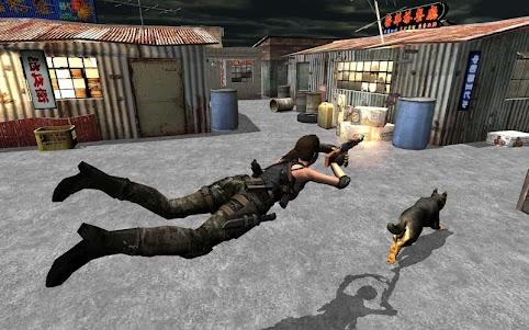 Secret Agent Lara Croft 2 : Front Line Commando 1.0.9 screenshot 1