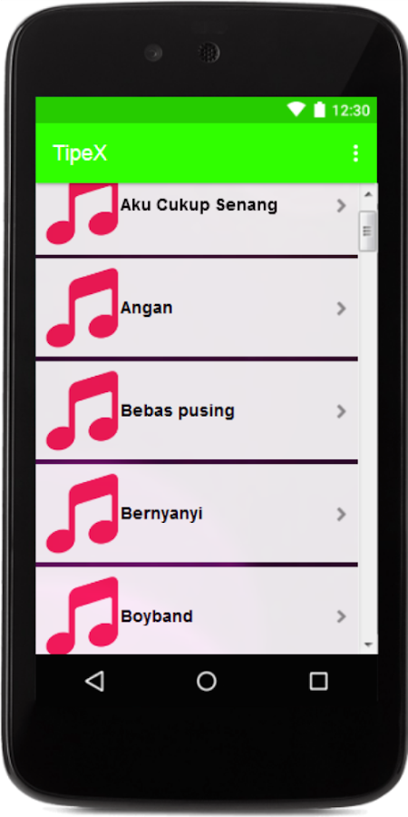 Lagu Tipe X Lengkap Full Album Mp3 1 0 APK Download - Android Music