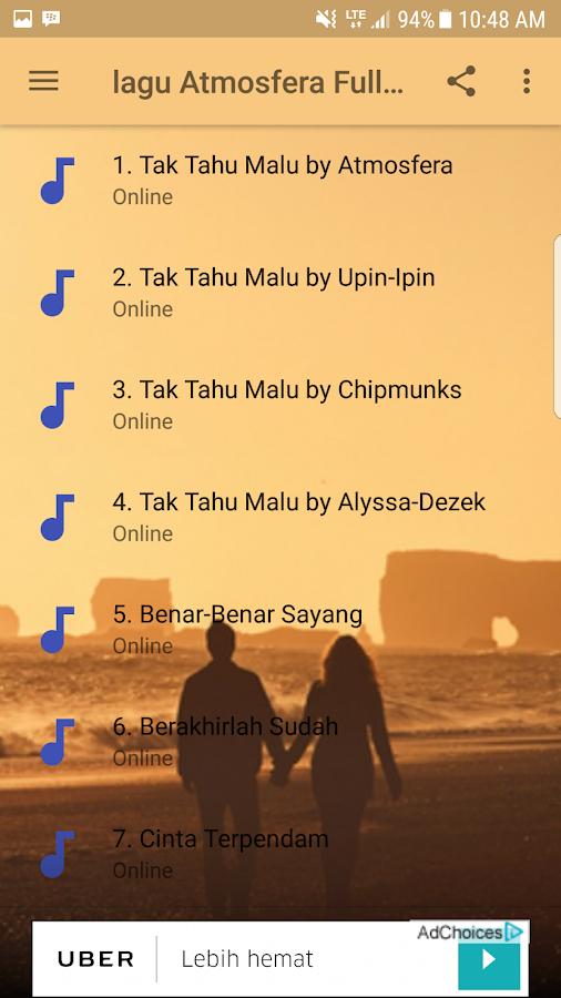 Download lagu tak tahu malu