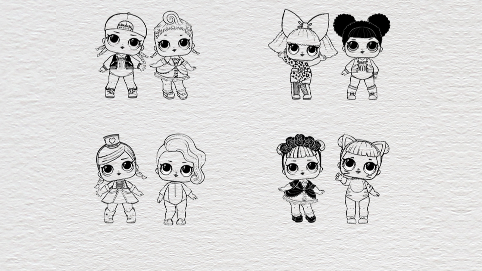 Download LOL Dolls Coloring Game 3 0 0 APK Android