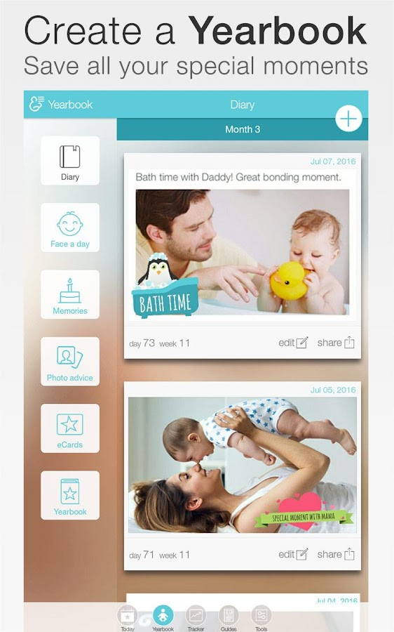 Baby Your Baby Tracker 183 Apk Download Android Cats