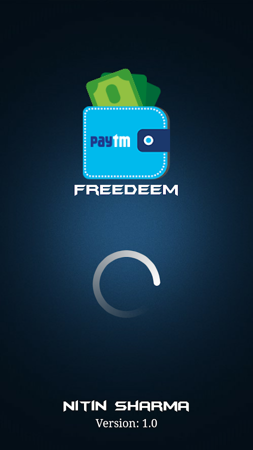 Earn Free Paytm Cash & Paypal Money - Freedeem 3 0 APK Download