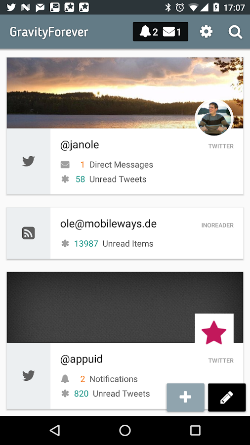 Gravity For Twitter & RSS 1 5 103 APK Download - Android
