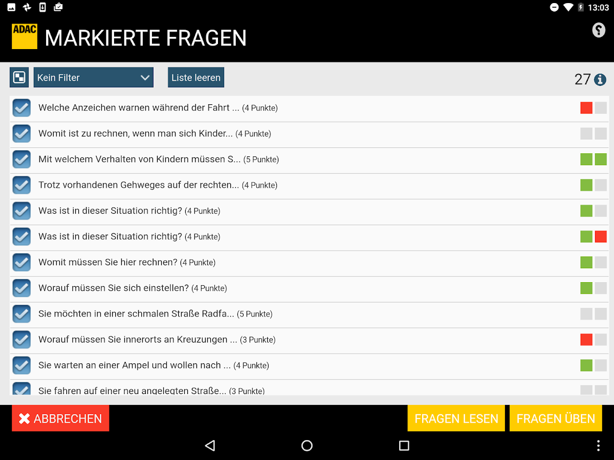 ADAC Führerschein 2.4.0 APK Download - Android Education Apps