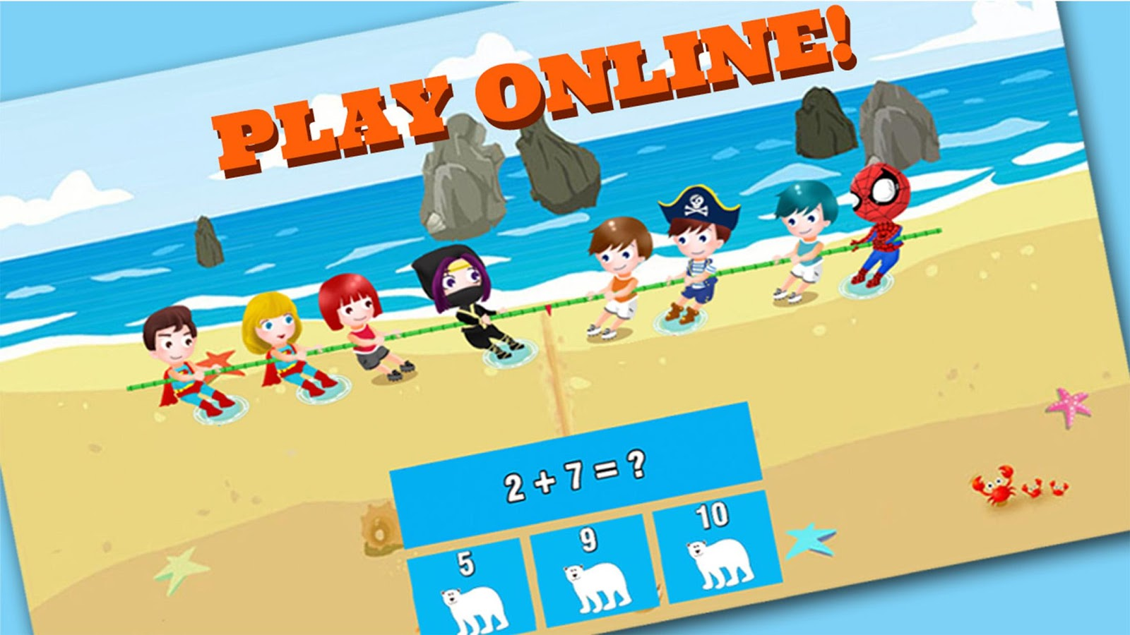 Fun math game for kids online 1.6.0 APK Download - Android ...