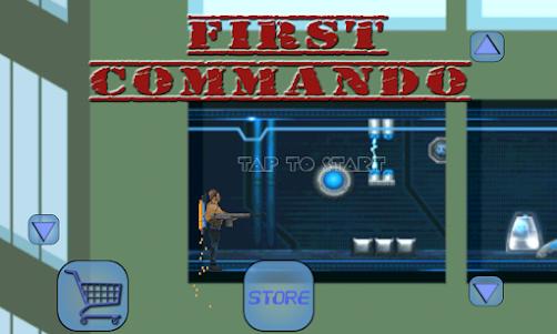First Commando 1.2 screenshot 1