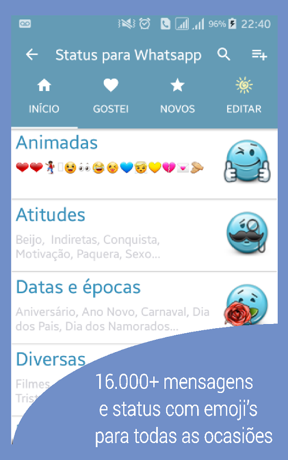 Frases E Status Para Whatsapp 500 Apk Download Android