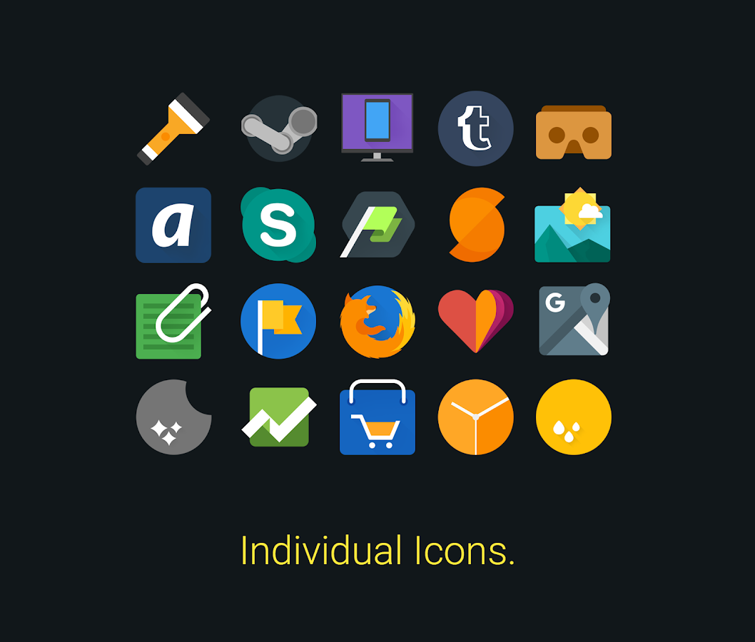 Glim - Icon Pack 7 0 0 APK Download - Android Personalization Apps