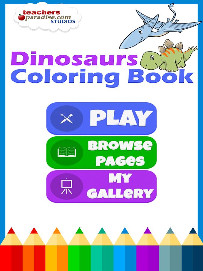 Dinosaurs Coloring Book 13 Screenshot 1 2
