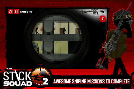 Stick Squad 2 - Shooting Elite 1.3.3 screenshot 3